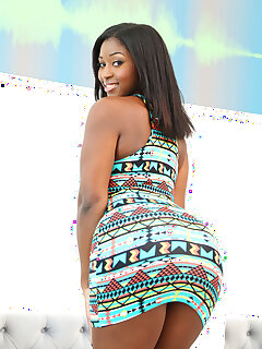 Ebony Skirt Pictures
