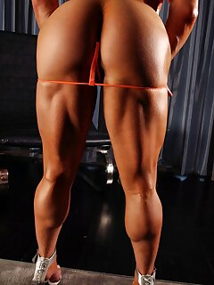 Ebony Muscle Pictures