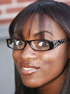 Ebony Glasses Pictures